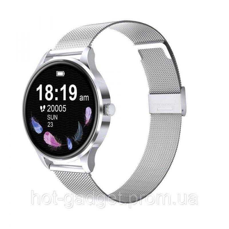 Купить Смарт-часы Bakey G3 Gold (тонометр, пульсоксиметр) Серебро