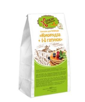 Купить Мука для блинов «Кукуруза + I-й сорт», 300 г