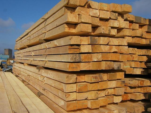 Купить Балка деревянная 100х150 мм ( сосна )