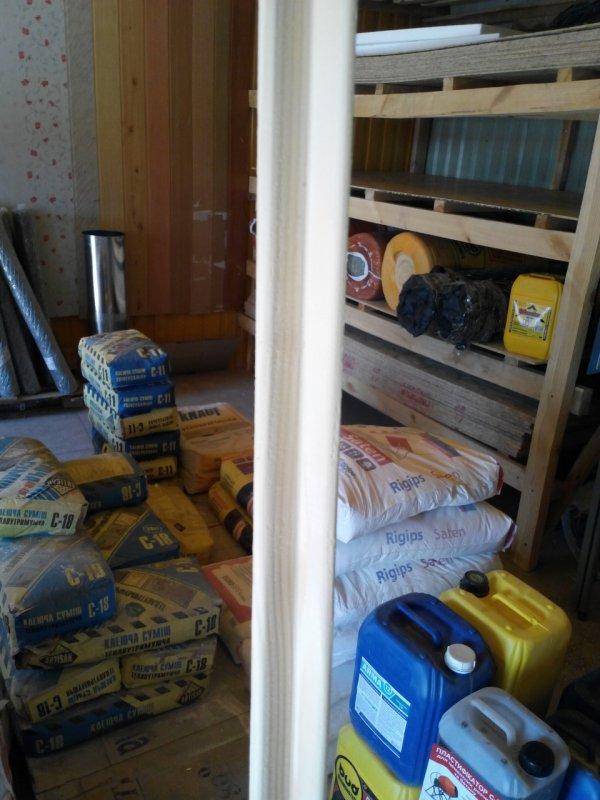 Купить Угол внутренний деревянный 25х25