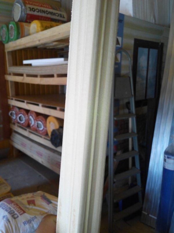Купить Угол наружный деревянный 35х35
