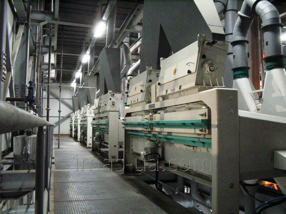 Вертикальная установка для обработки семян HUM (HVSC)