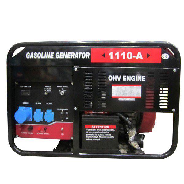 Купить Бензиновый генератор Weima WM1110-A (9,5 кВт, 1 фаза, ручной старт)