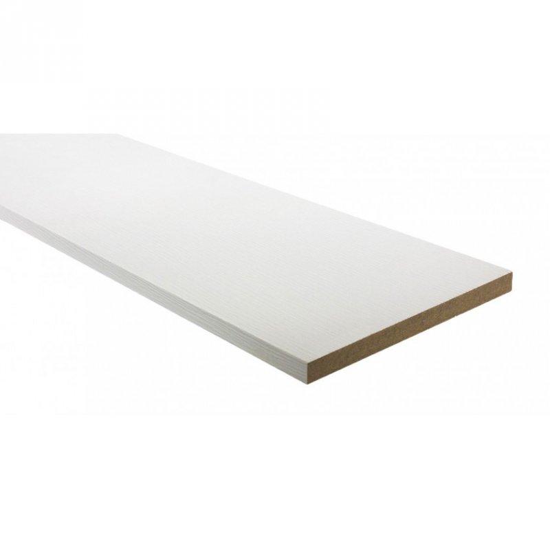 Купить Доборная доска ПВХ 150 мм белый структурный, шт