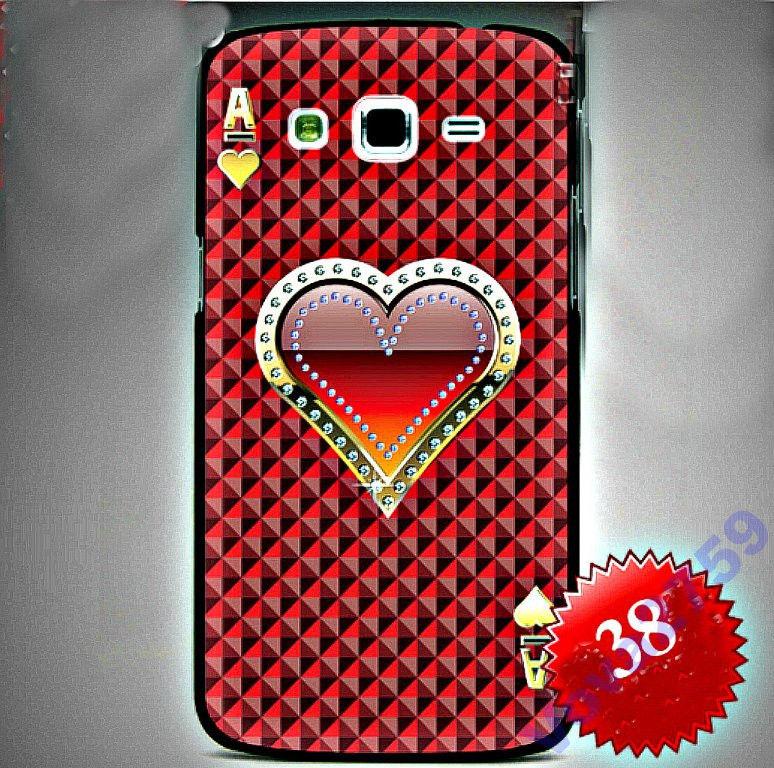 Чехол для Samsung Galaxy гранд 2 G7102-сердце.