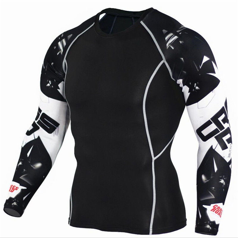 Спортивные костюмы 3D с длинным рукавом для Бодибилдинга, тяжелой атлетике, фитнеса, в тренажерный зал и т. д.
