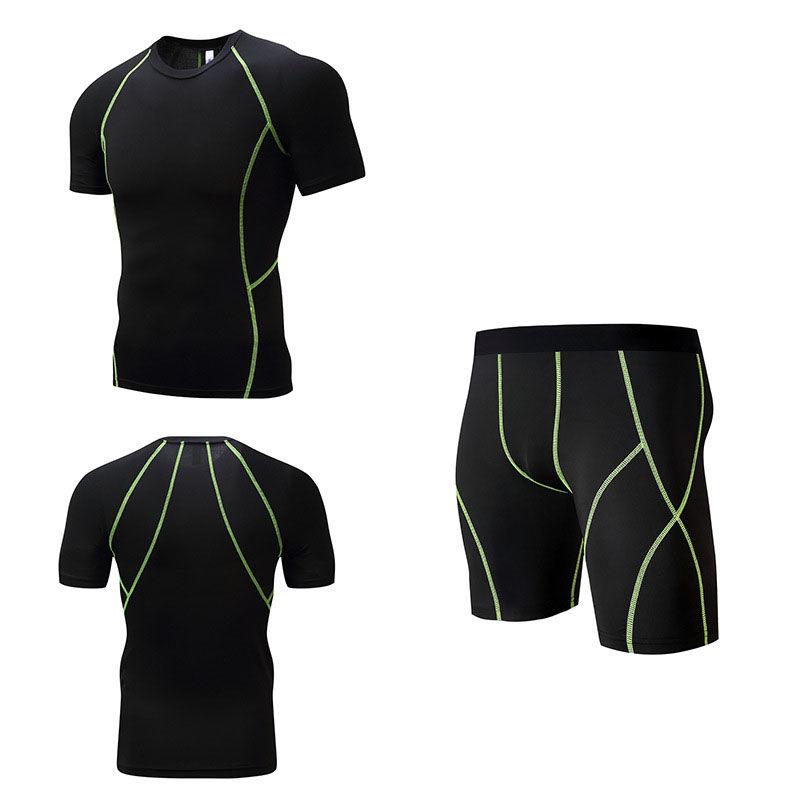 Для мужчин спортивный костюм 3 D футболка.