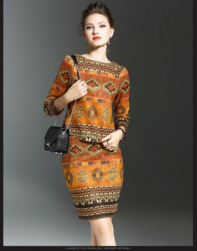 Новые женские модные кожаные платья осень-зима