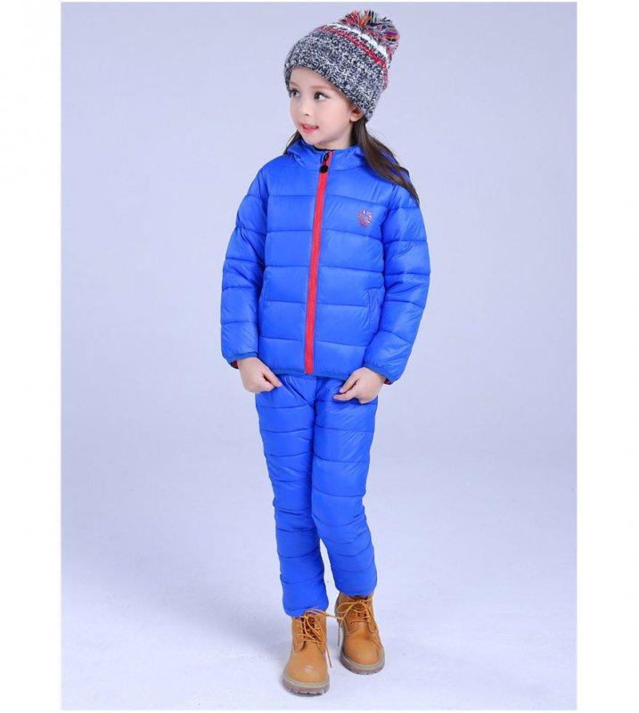 Водонепроницаемый толстые, теплые комплекты детской одежды.