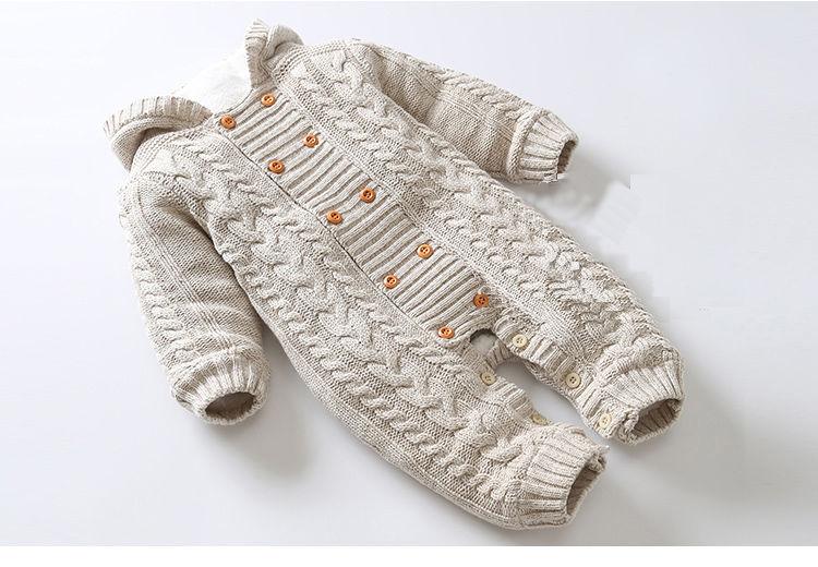 Зимняя детская верхняя одежда с капюшоном для детей новорожденных-ясельного возраста.