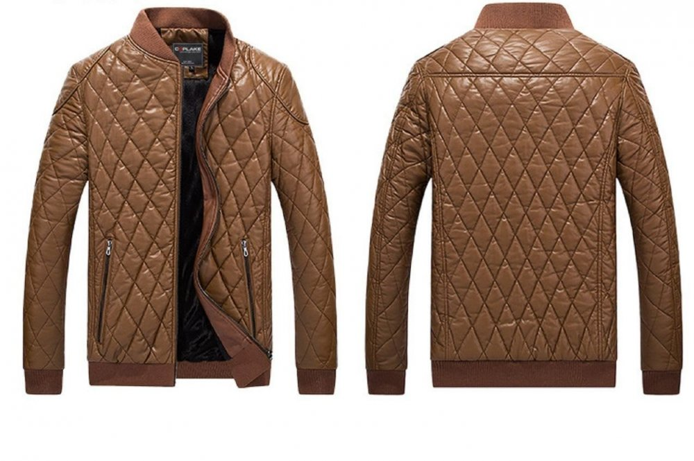 Мужская зимняя теплая куртка -(Пилот) с воротником стойка.