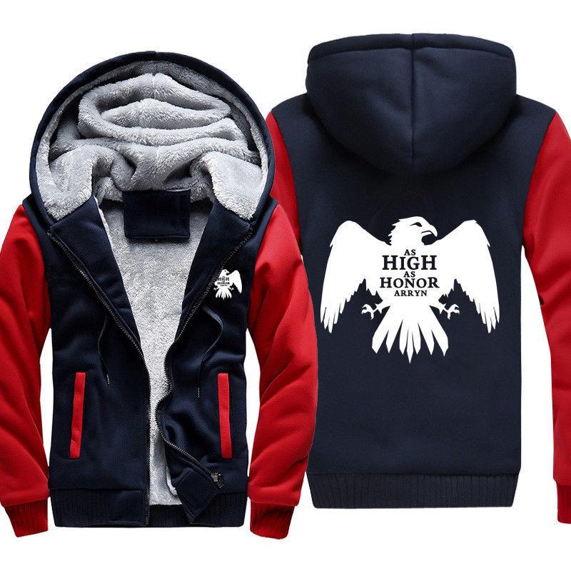 Брендовая модная зимняя толстовка-Орел