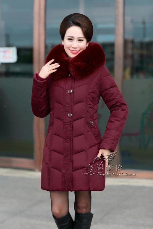 Женская теплая мягкая зимняя куртка с меховым воротником.