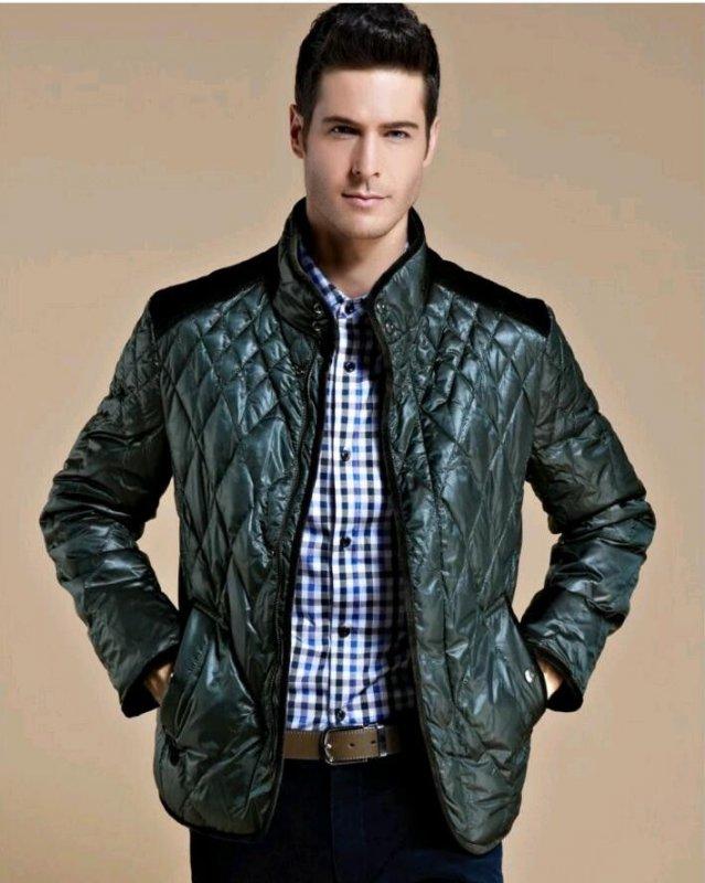 Теплые зимние мужские куртки на утином пуху.
