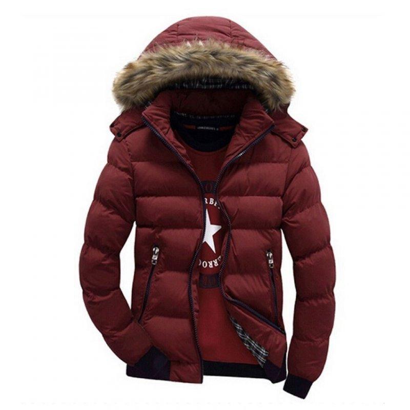 Купить Брендовые зимние, молодежные, теплые куртки-с мехом на капюшоне