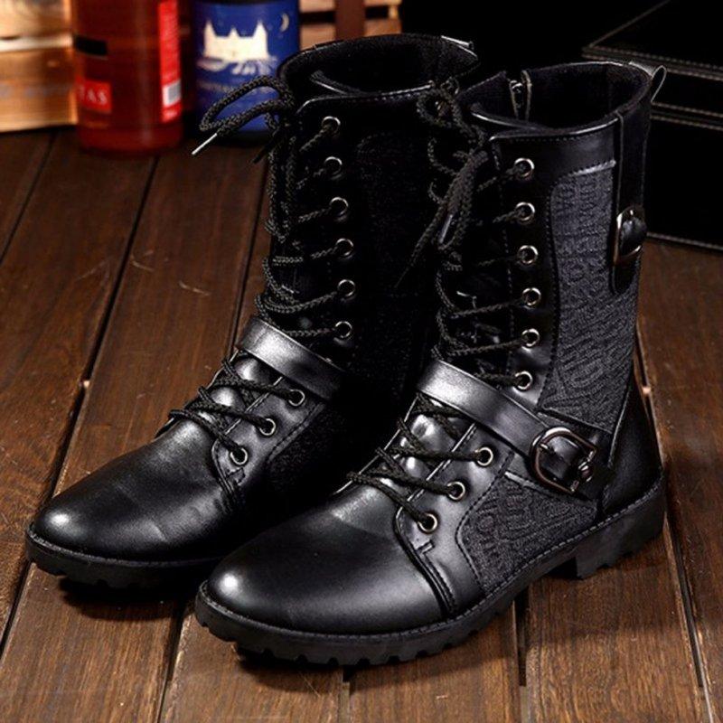 Купить Ботинки Martin в стиле панк для мужчин