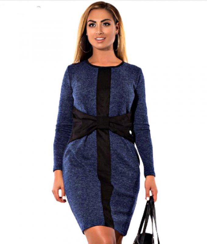 Красивое элегантное платье больших размеров.