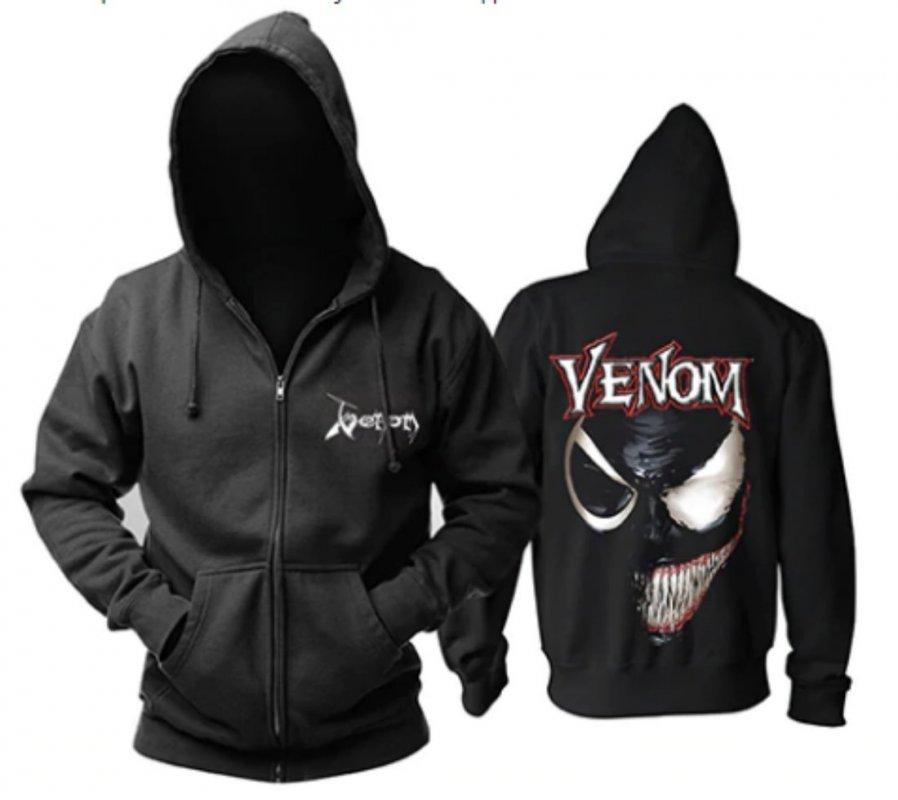 Мужские толстовки-Venom.
