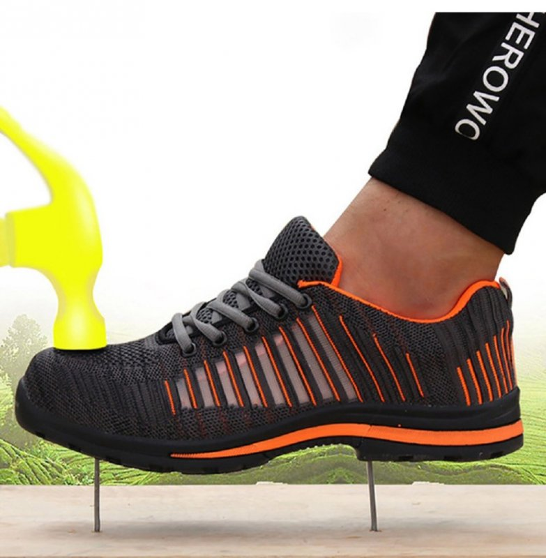 Мужские зимние ботинки на шнуровке для роботы не сколзящие
