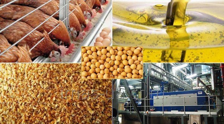 Система производства маложирной сои