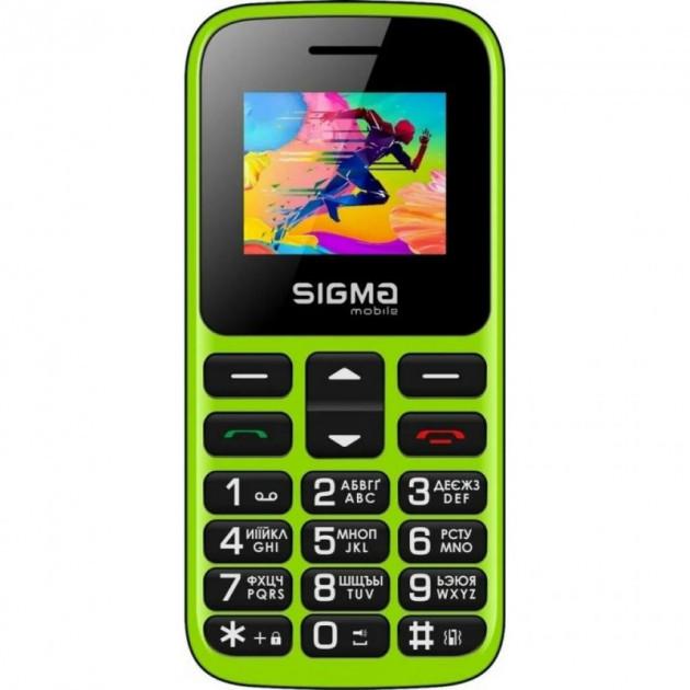 Купить Мобільний телефон Sigma Comfort 50 Hit 2020 Green