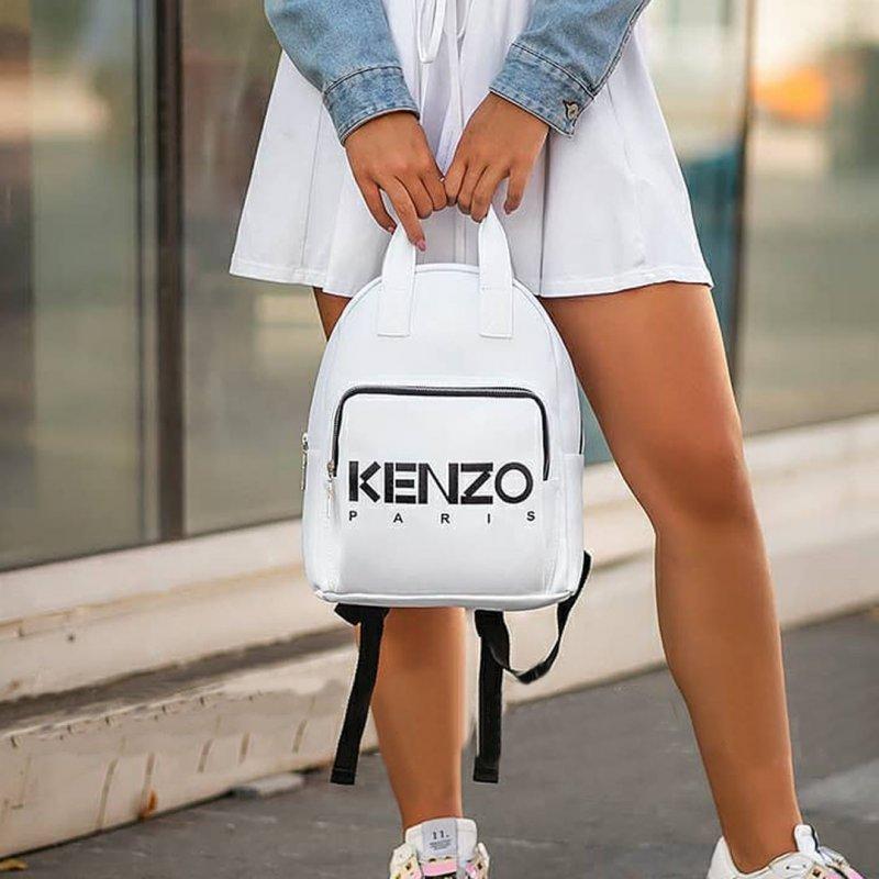 Купити Стильный женский рюкзак KENZO Белый