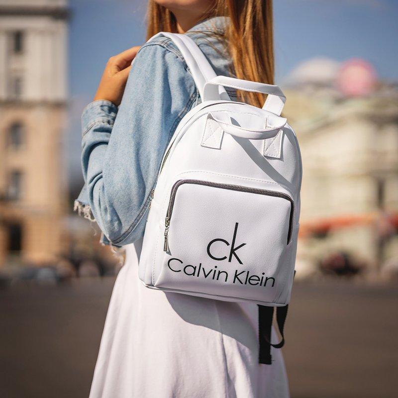 Купити Стильний жіночий рюкзак Calvin Klein Білий