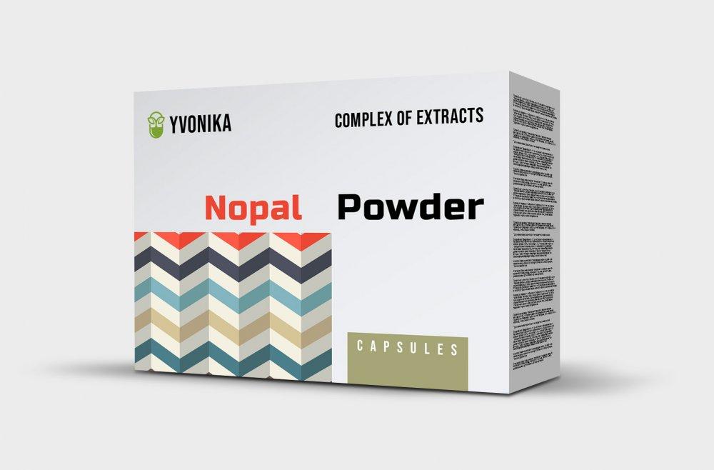 Nopal Powder - капсулы от диабета