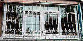 Купить Решётки на балкон квадрат 12-прямые