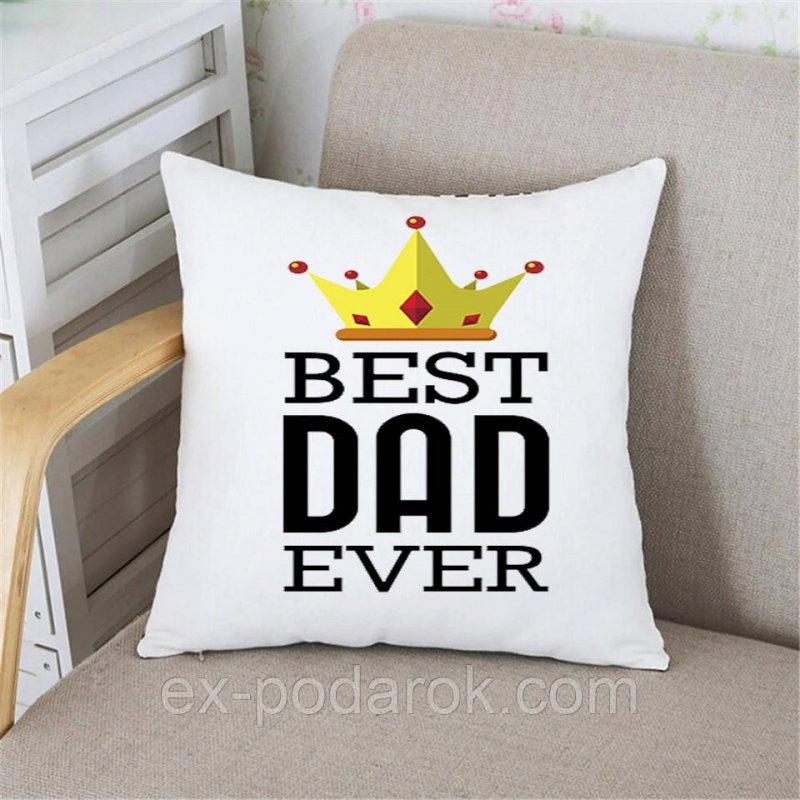 Купить Подушка Папе Best dad ever