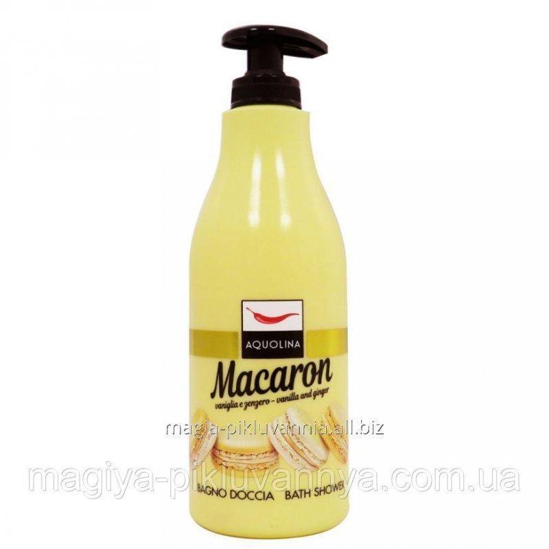 Купить Гель для душа Macaron Bagno Doccia Ваниль и Имбирь, 500 мл (Италия), арт.638455