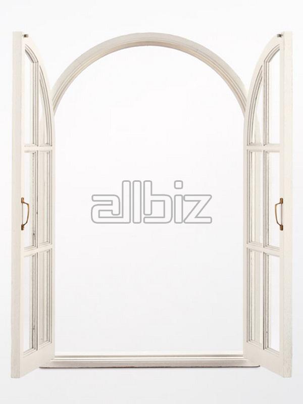 Купить Производим деревянные оконные рамы и окна из клееного бруса сосны