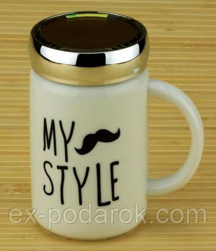 Купить Оригинальная керамическая термокружка с популярными дизайнами My style