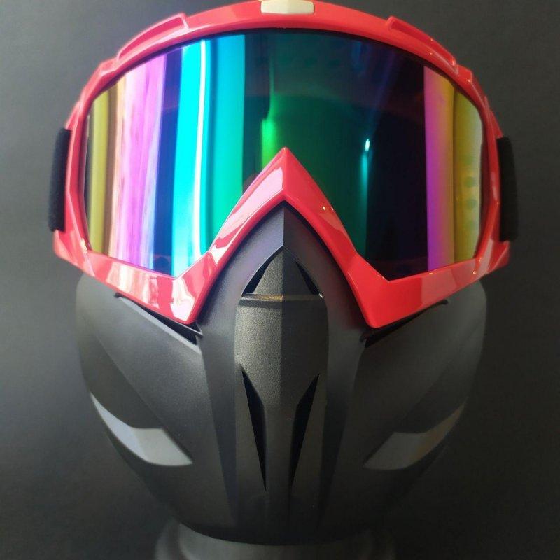 Купить Лыжные очки HXS лыжная маска красная с защитой VIP