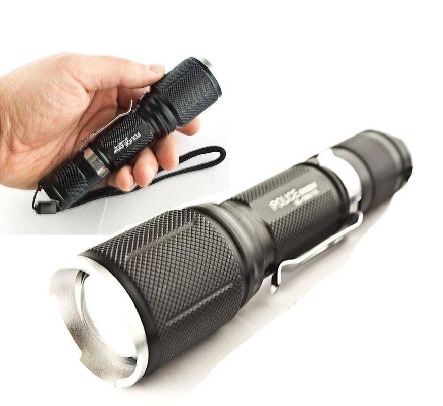 Купити Тактический ручной фонарь Police BL-1860-T6