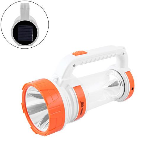Купити Мощный прожектор, аккумуляторный кемпинговый фонарь Small Sun S005 5W солнечная батарея