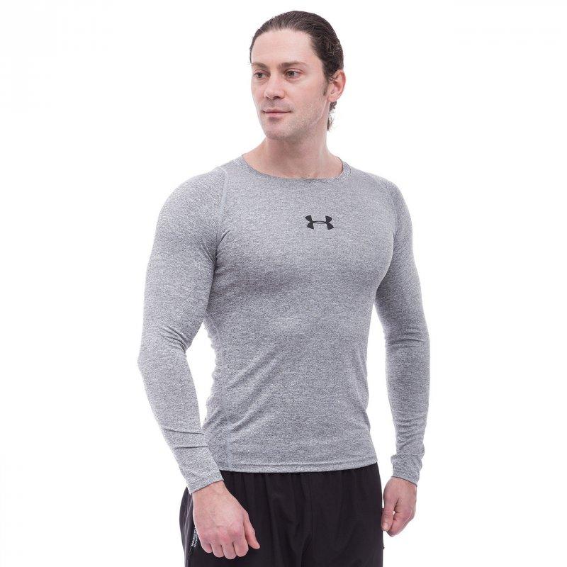 Купить Лонгслив спортивный мужской UAR CO-809-1 (PL, M-2XL-165-185cм,серый)
