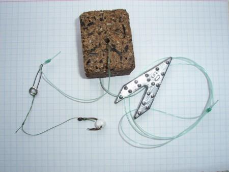 Макушатник готовый с двумя крючками (ласточка)