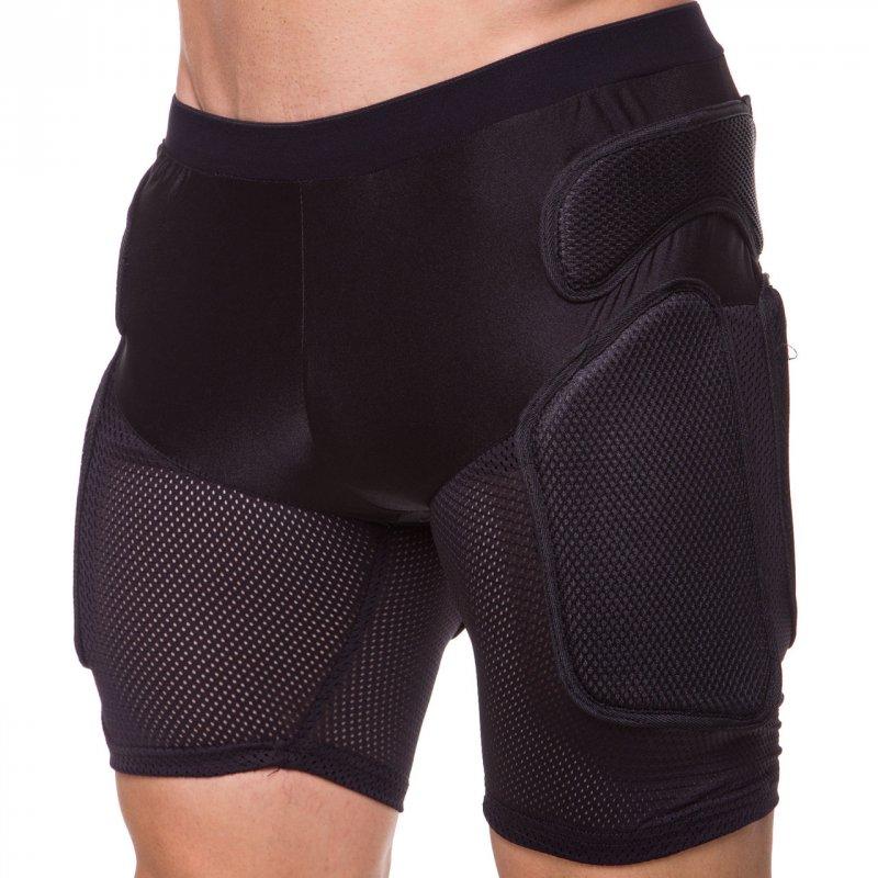 Купить Шорты защитные для экстремальных видов спорта BC-3506 (PL, PVC, р-р M-L, черный) PE9049C