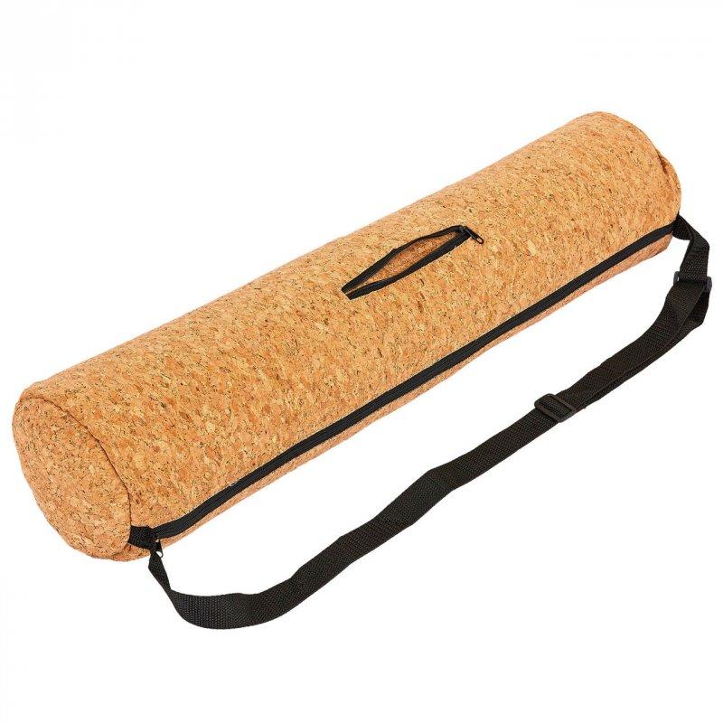 Купить Чехол для йога коврика Yoga bag Пробковый SP-Planeta FI-6973 (размер 13смх65см, пробковое дерево, полиэстер,