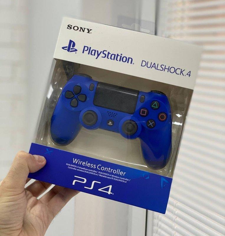 Беспроводной Геймпад Sony PlayStation Dualshock 4 V2 Синий