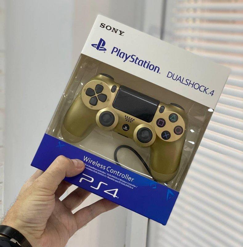 Беспроводной Геймпад Sony PlayStation Dualshock 4 V2 Золотой