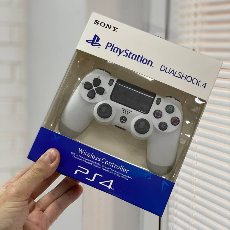 Беспроводной Геймпад Sony PlayStation Dualshock 4 V2 Белый
