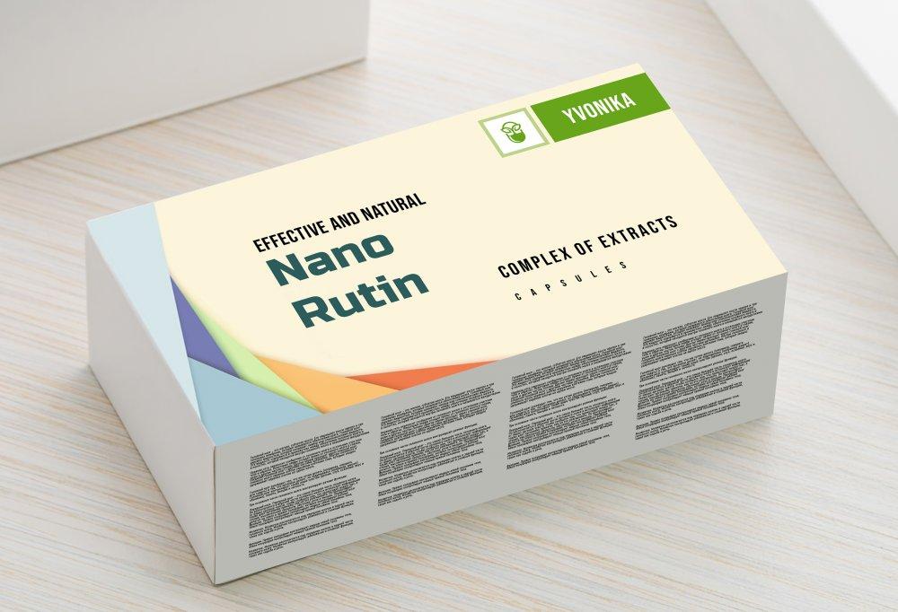 Buy Nano Rutin - capsules for hemorrhoids