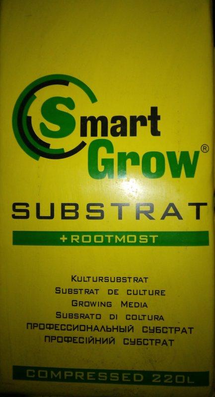 Купить Торфяной субстрат Smart Grow+Root Most (с укоренителем) 220 л.