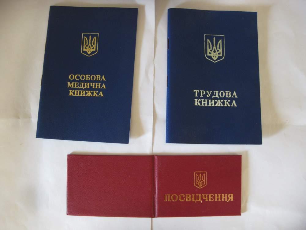 Медицинские книжки бланки купить сделать медицинскую книжку на щелковской