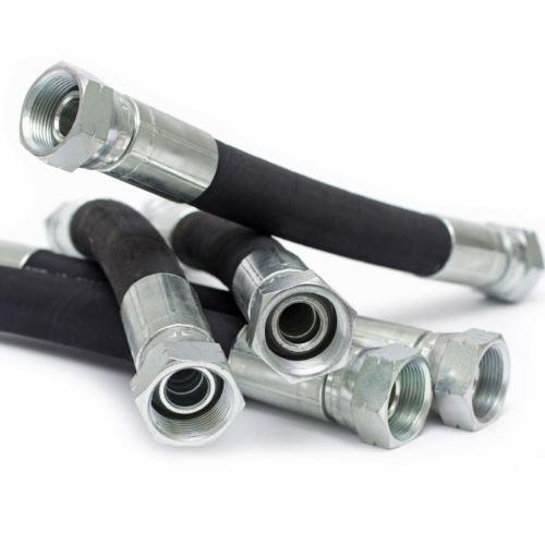 Купить Рукав высокого давления (r.24, L= 0,6 с углом 90) 2 SN DN10 WP330/BP1320 bar