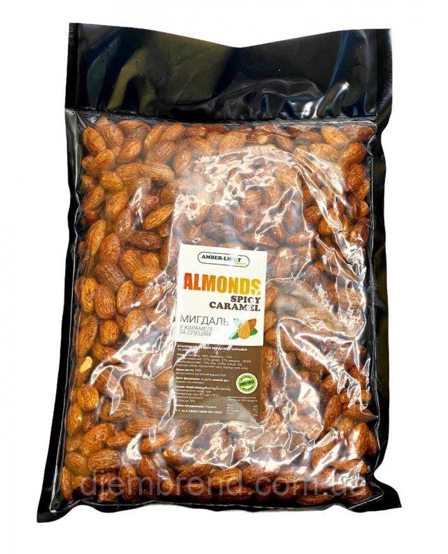 Купить Миндаль карамелизированный со специями, 500 г. Almonds Spicy Caramel