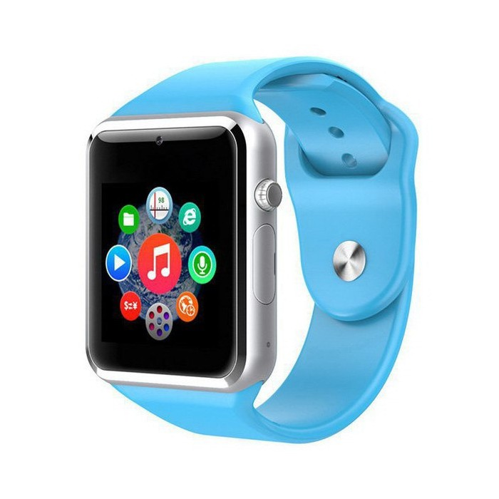 Часы Smart Watch Phone A1 Blue (13364)