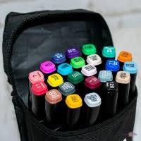 Купить Набор маркеров на спиртовой основе для рисования и скетчинга 24 шт